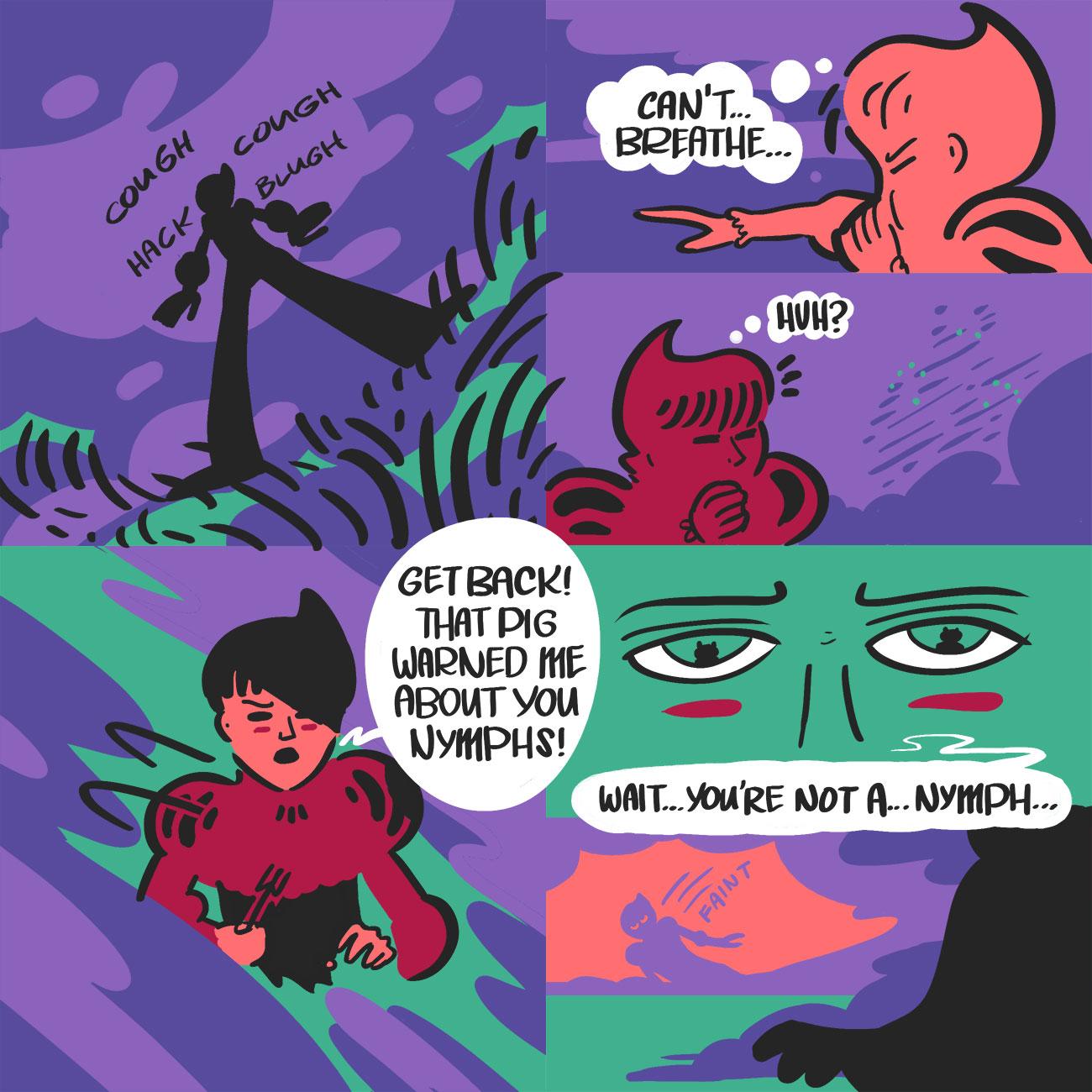 Death is Certain by Sam Gwilym, Alfa #8